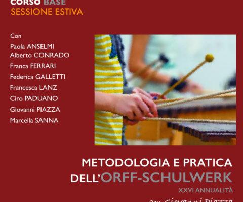Formazione estiva Orff-Schulwerk Italiano