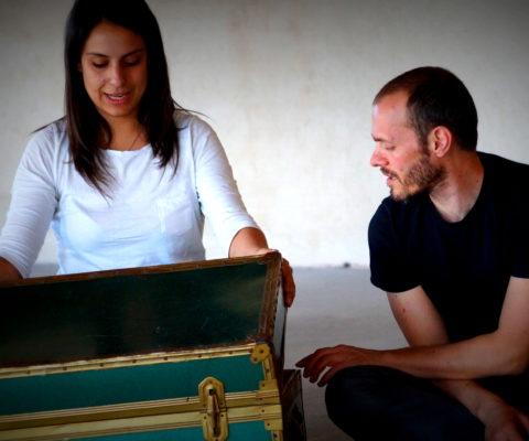 Una giornata a Venasca – Viola e Gianni