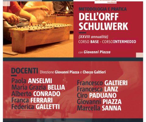 Formazione Orff-Schulwerk Italiano