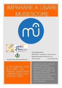Imparare a usare Musescore con Eugenio Mirti